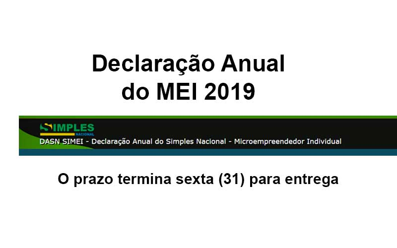 Declaracao Anual Do MEI 2019